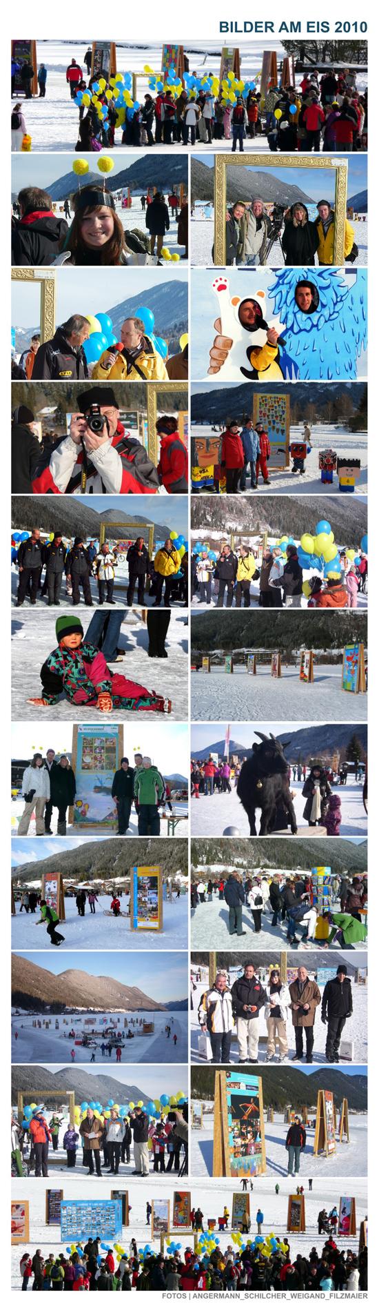 Bilder am Eis 2010 Vernissage