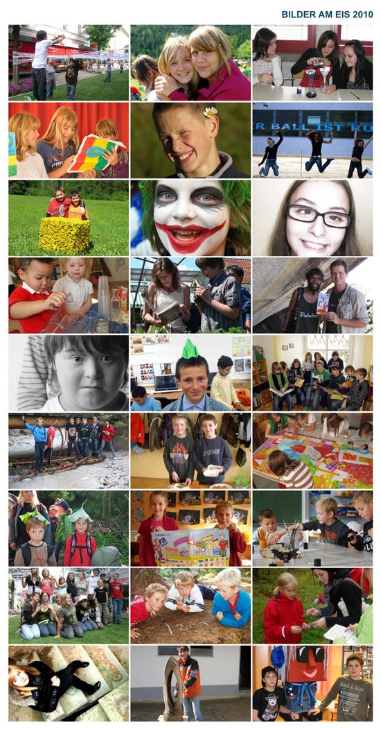 BILDER AM EIS 2010 – Ideen, die verbinden. Teilnehmer.